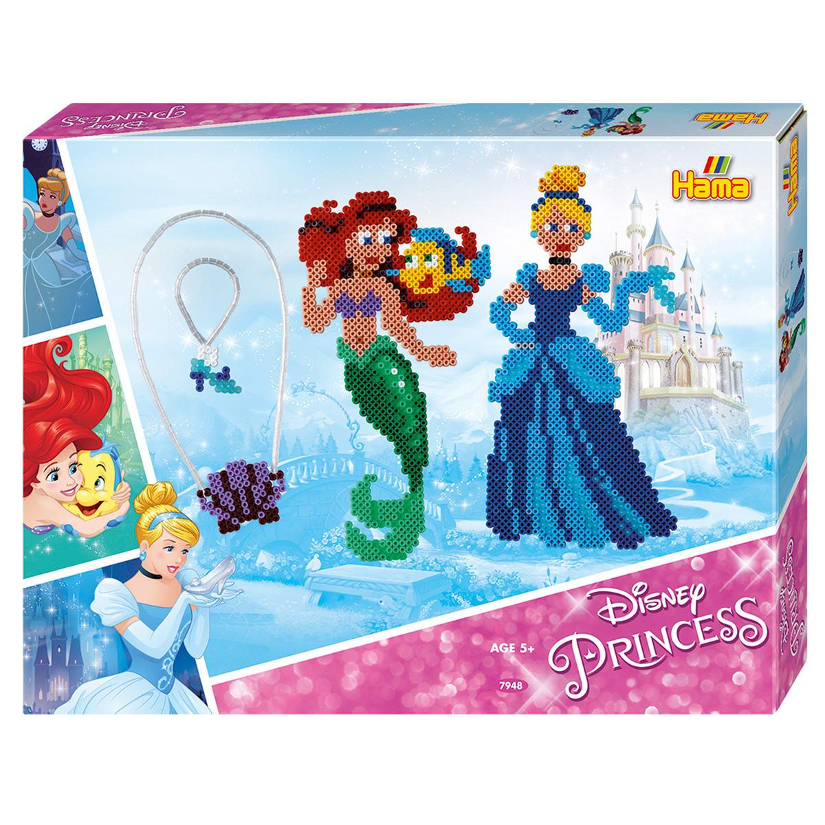 Inklusiv 2 stiftplader: Havfrue og prinsesse