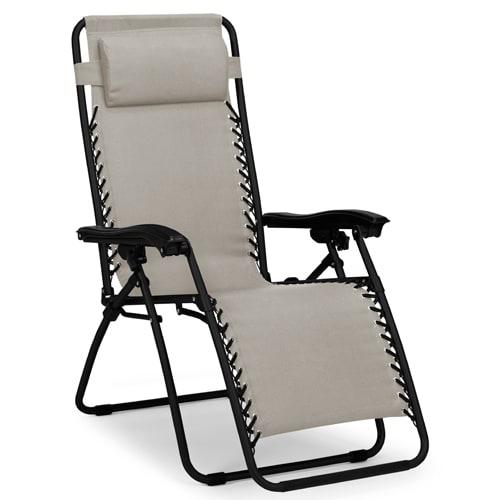 Positionsstol med betræk i polyester
