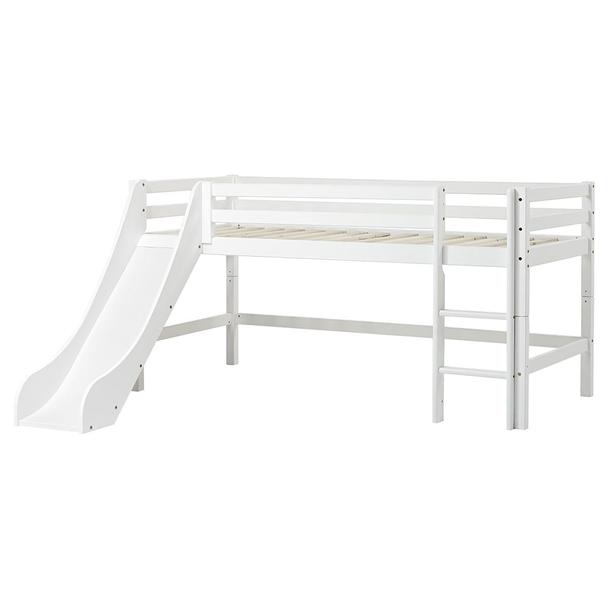 90 x 200 cm - Svanemærket halvhøj seng