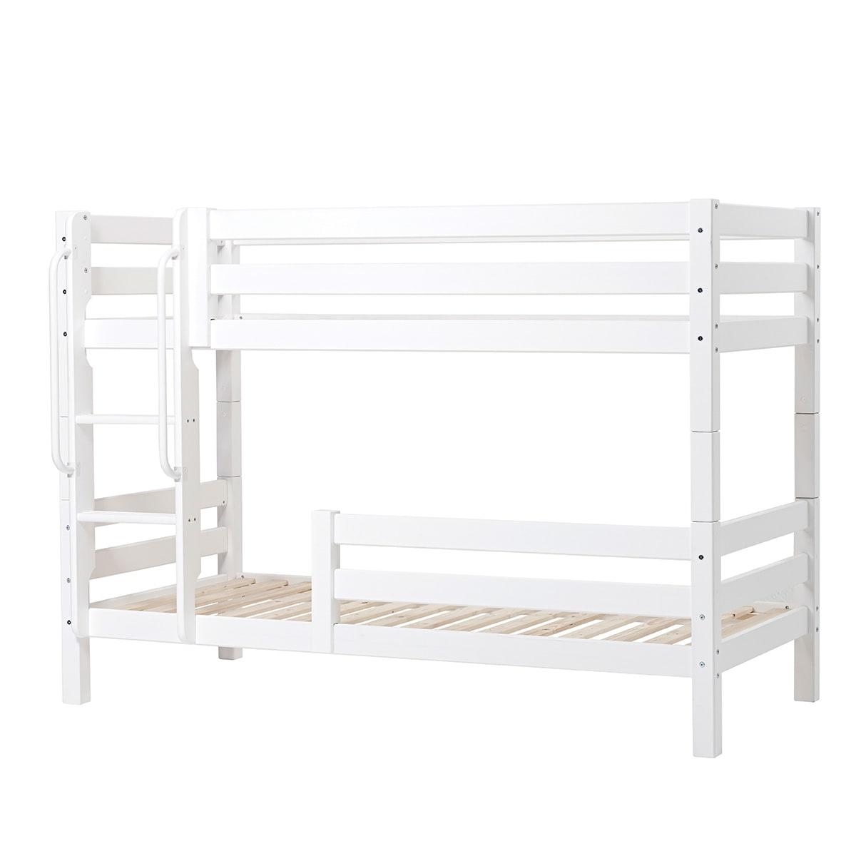 90 x 200 cm - Svanemærket børneseng med sengeheste og livstidsgaranti
