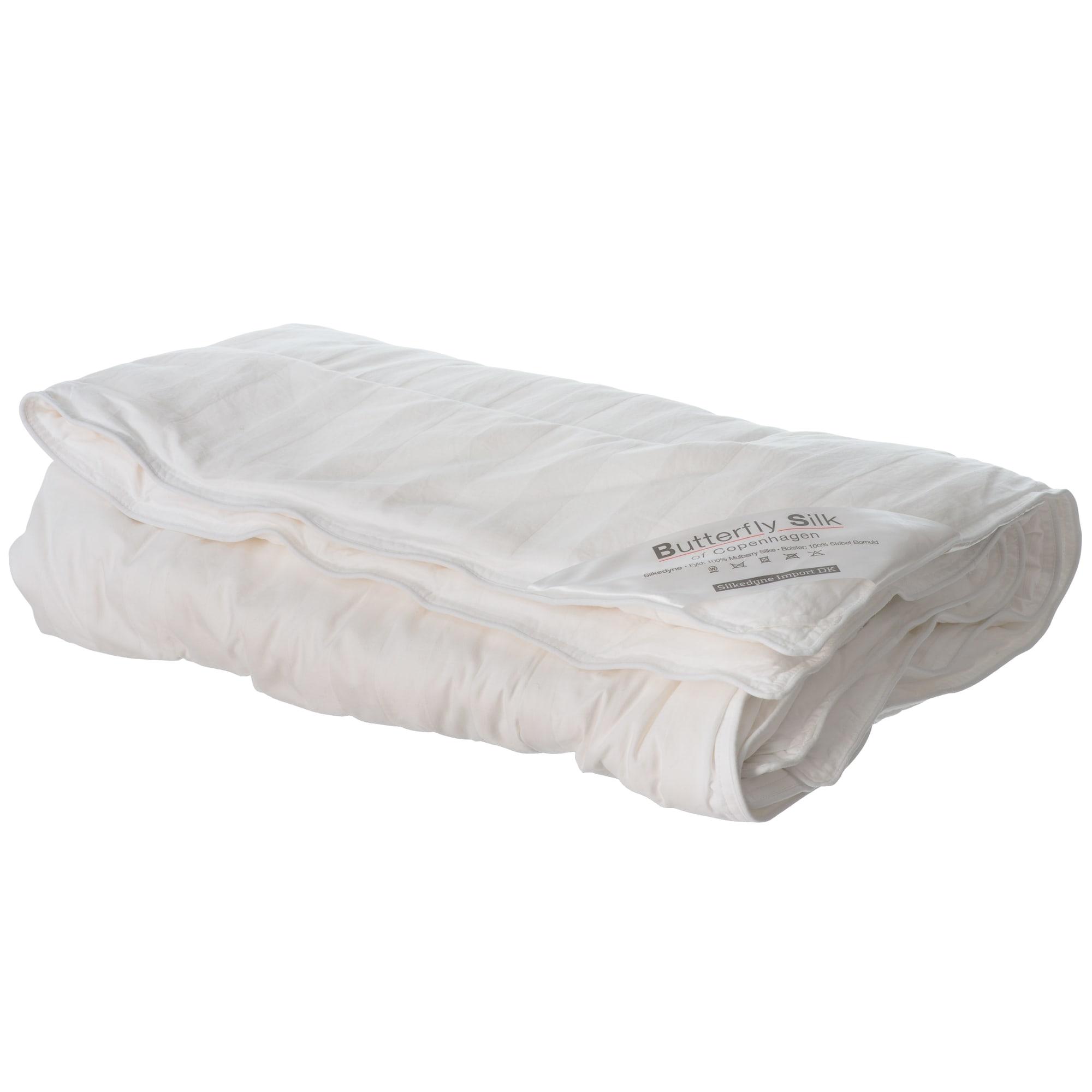 Silke - 100 x 140 cm - Oeko-Tex, temperaturregulerende og åndbar