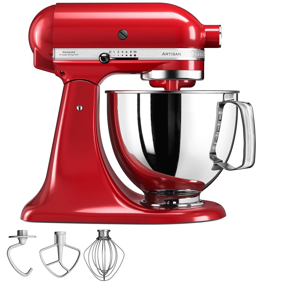 Ikonisk køkkenmaskine med 4,8-liters røreskål