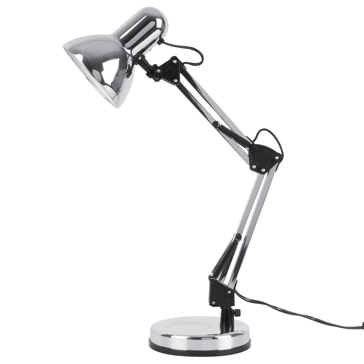 H 55 cm - Fineste arkitektlampe i metal - Bøjer i to led