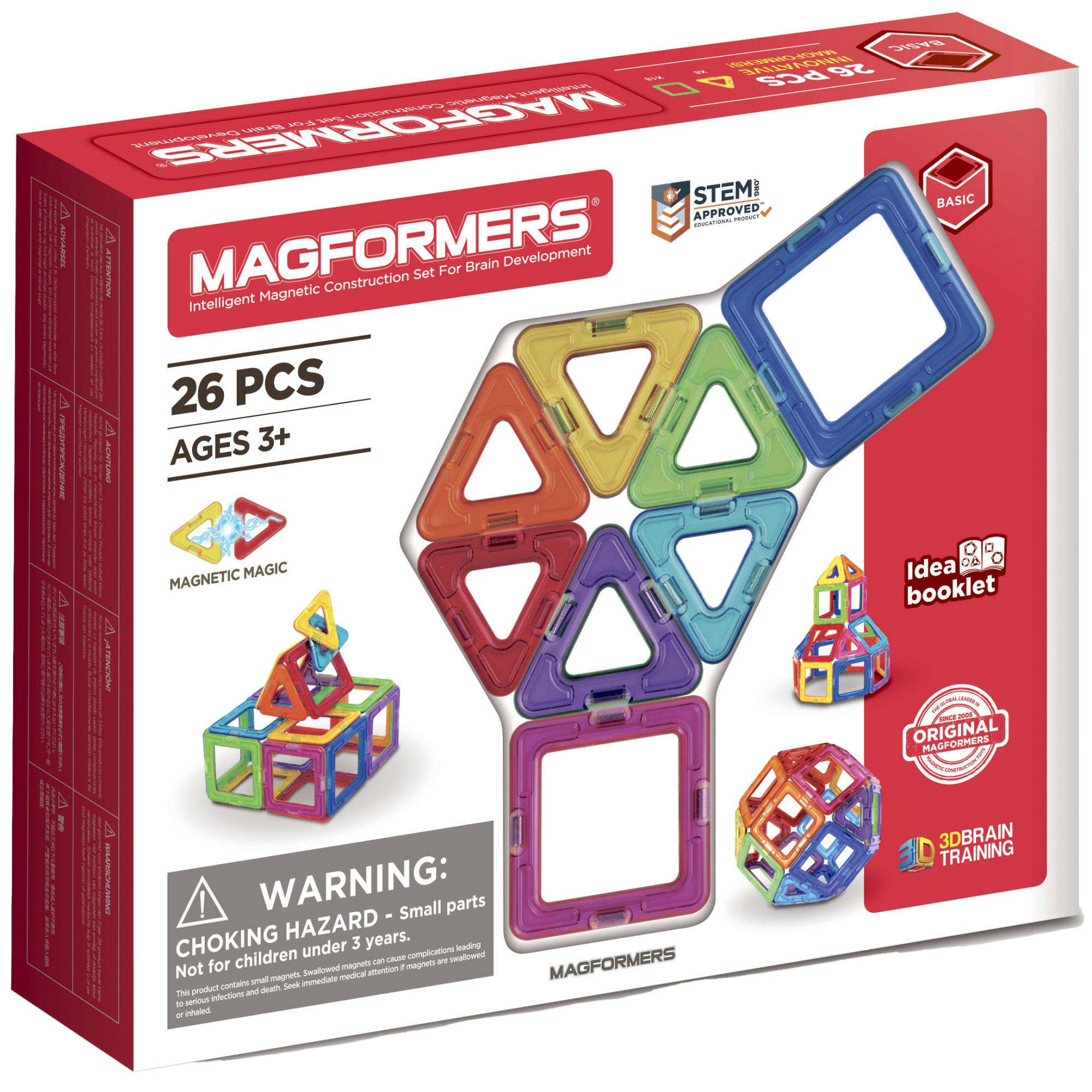 Kreativt magnetisk legetøj - Byg figurer i 3D