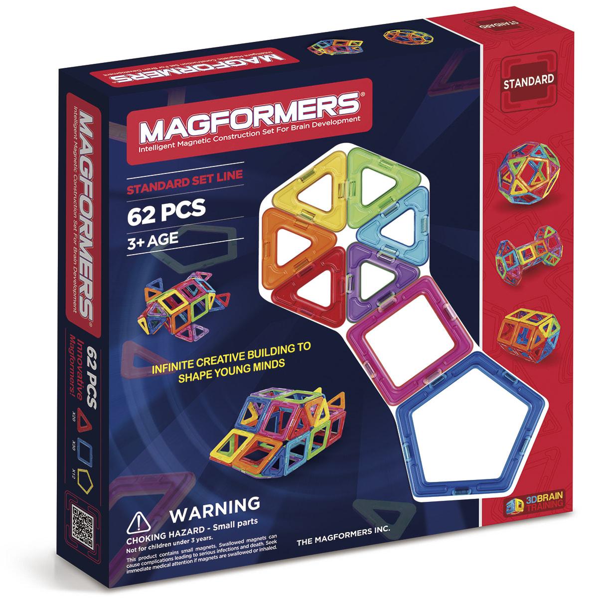 Kreativt magnetisk legetøj - Byg ting og figurer i 3D