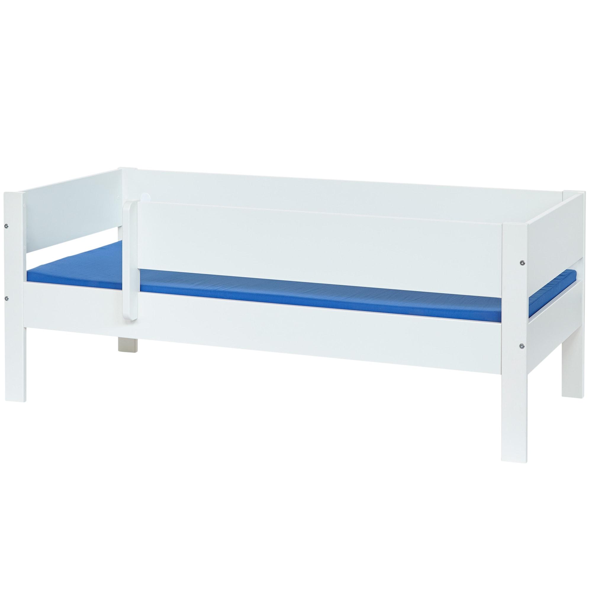 70 x 160 cm - Med sengehest der kan afmonteres
