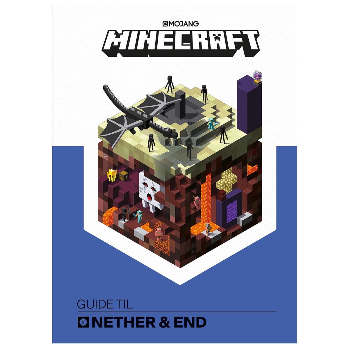 Få den ultimative guide til Minecraft med denne bog