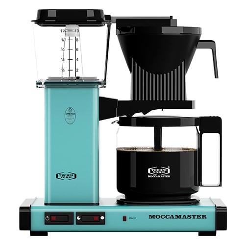 Brygger 10 kopper kaffe på 6 minutter