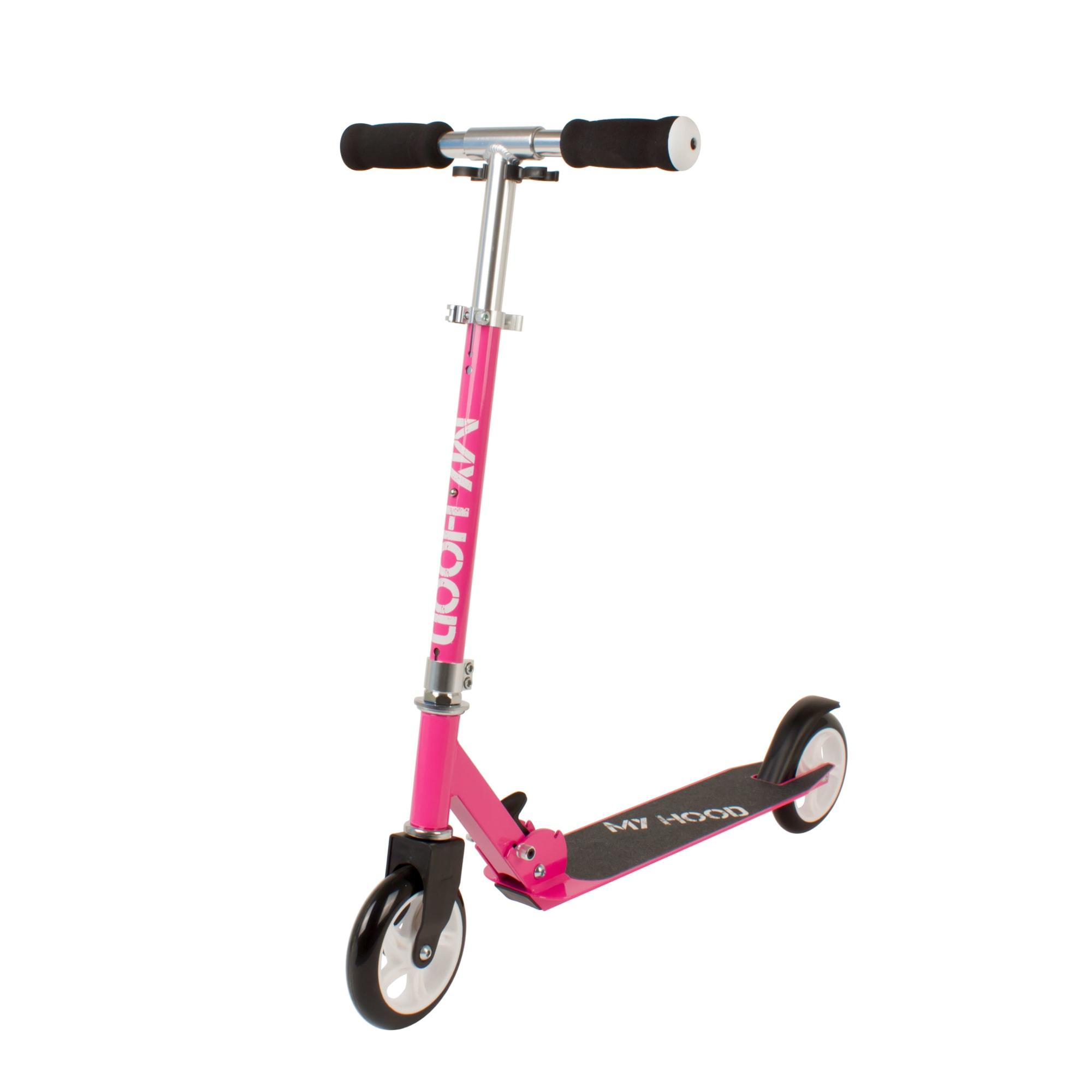 Sejt løbehjul med smart foldemekanisme - Velgnet til mindre børn