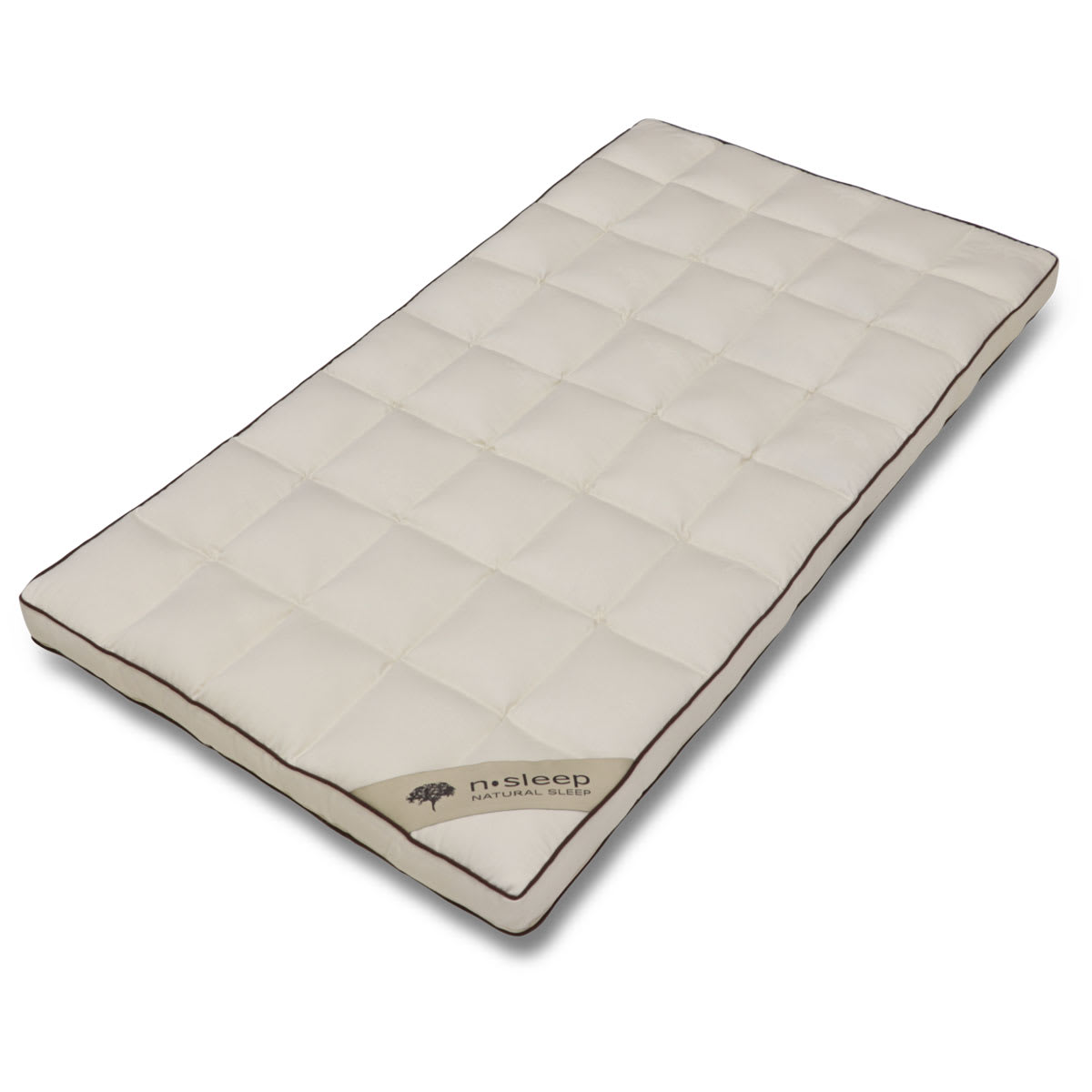 60 x 120 cm - Kapok naturfibre - Allergivenlig med god ventilation