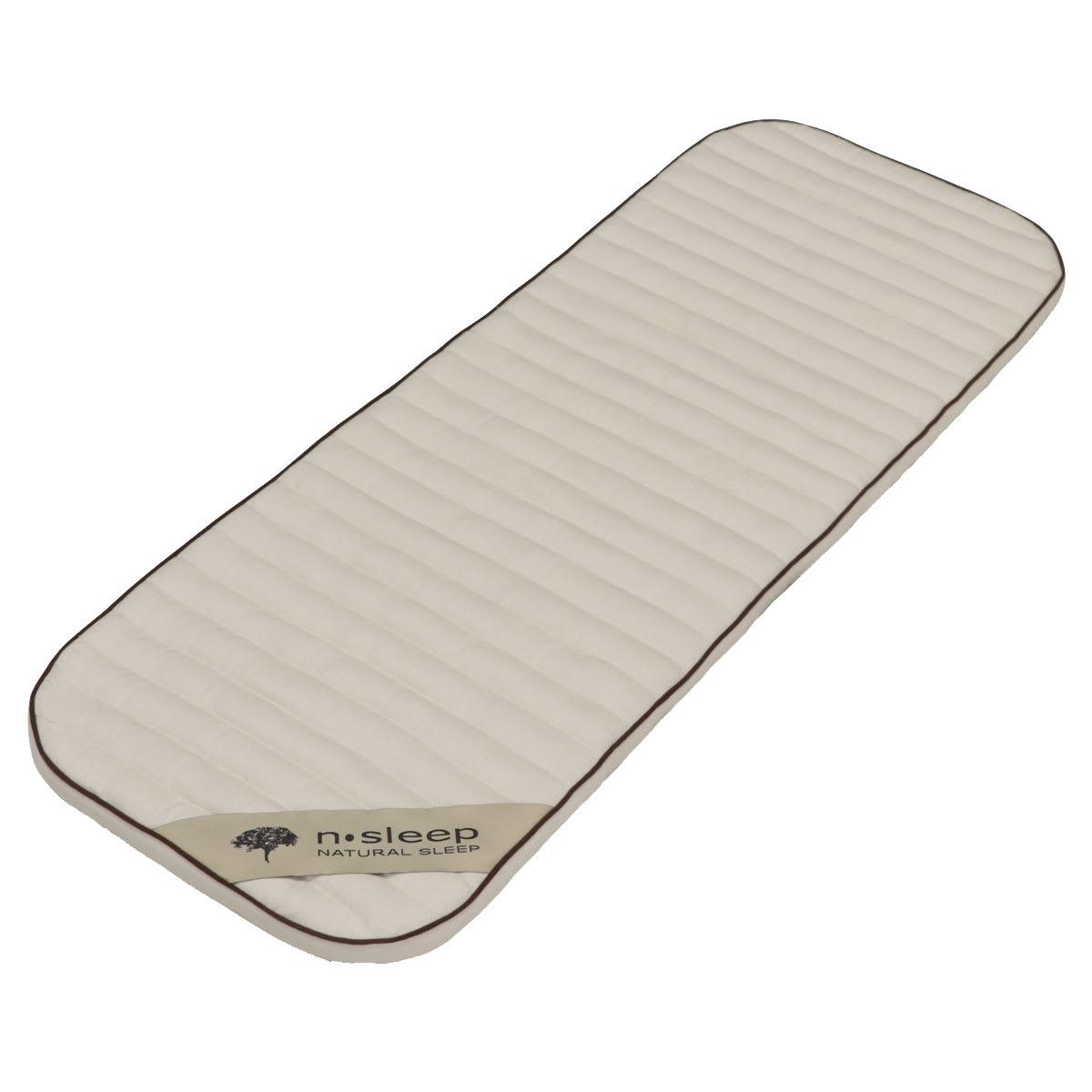 36 x 96 cm - Kapok naturfibre - Allergivenlig med god ventilation