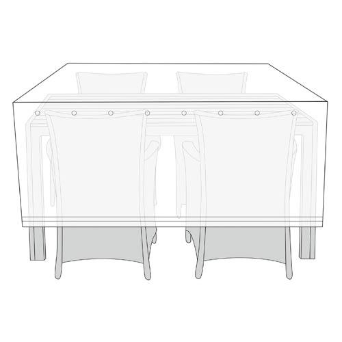 H 115 x B 130 x D 170 cm - Polyester