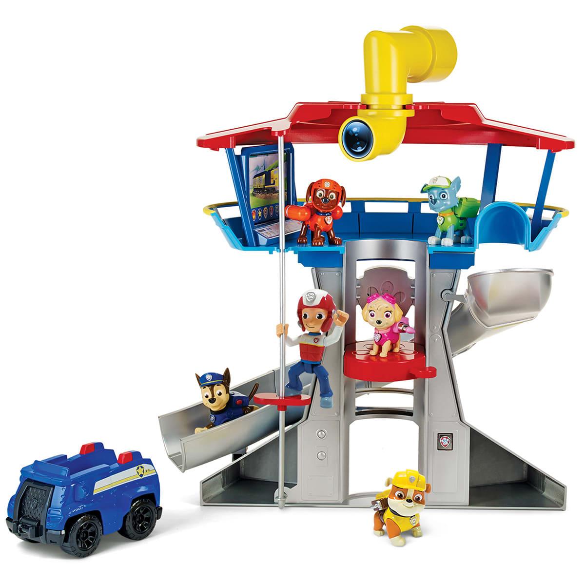 Lad Chase holde vagt i udkigstårnet med både lys og lyd