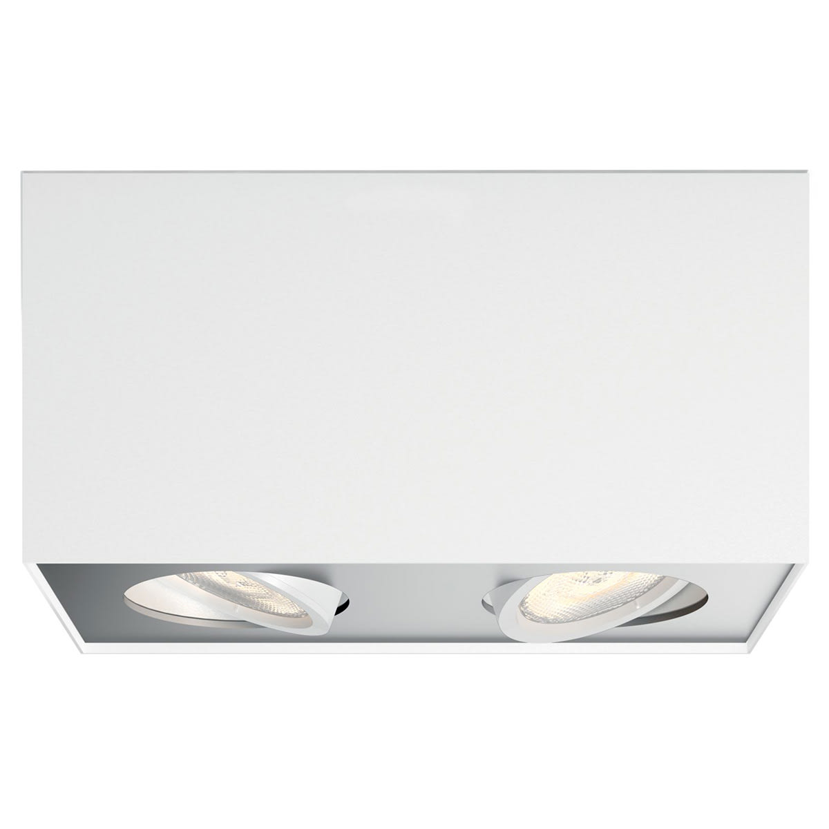 Med 2 justerbare spots - Inkl. LED-lyskilde