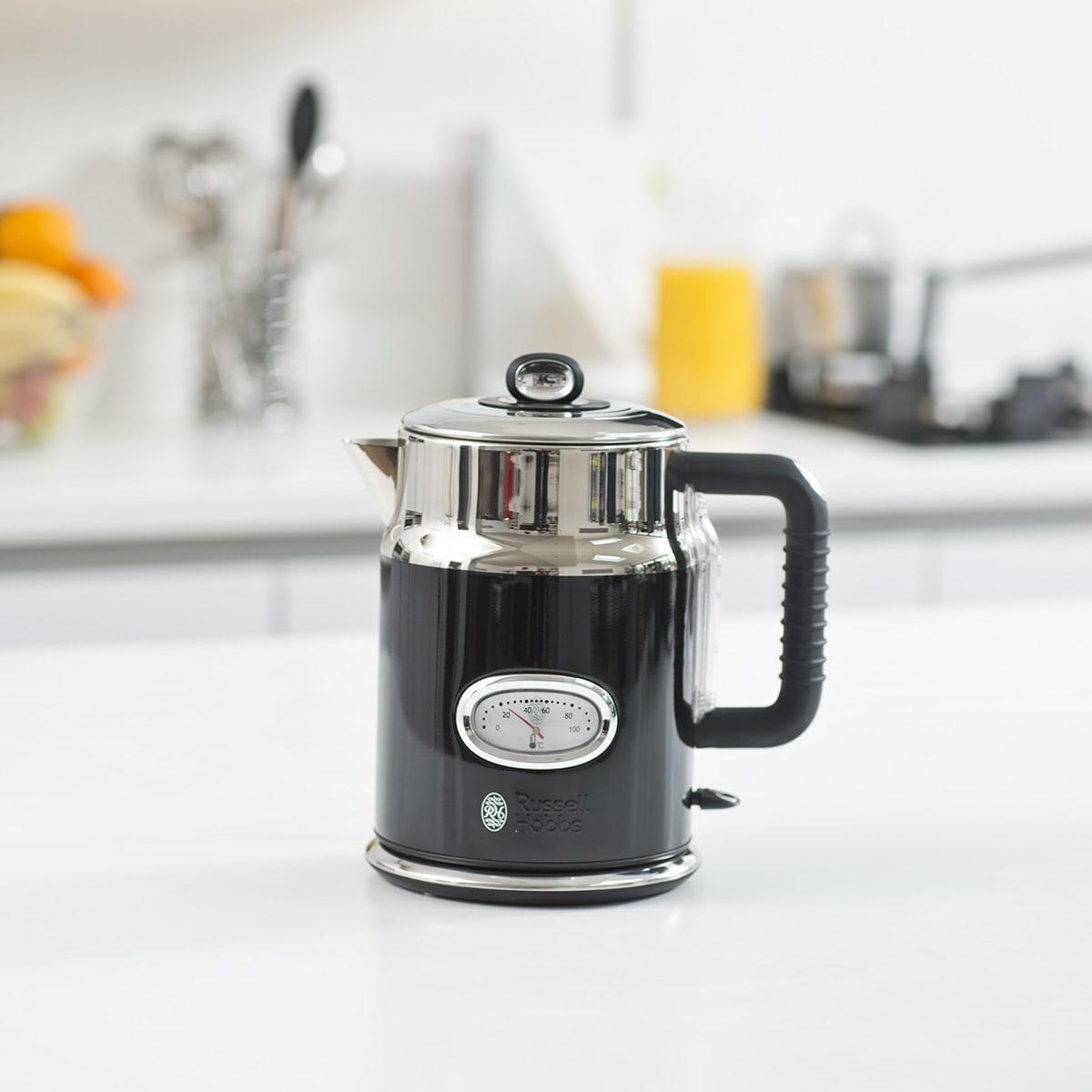 1,7 liter - Kog en kop vand på 55 sekunder
