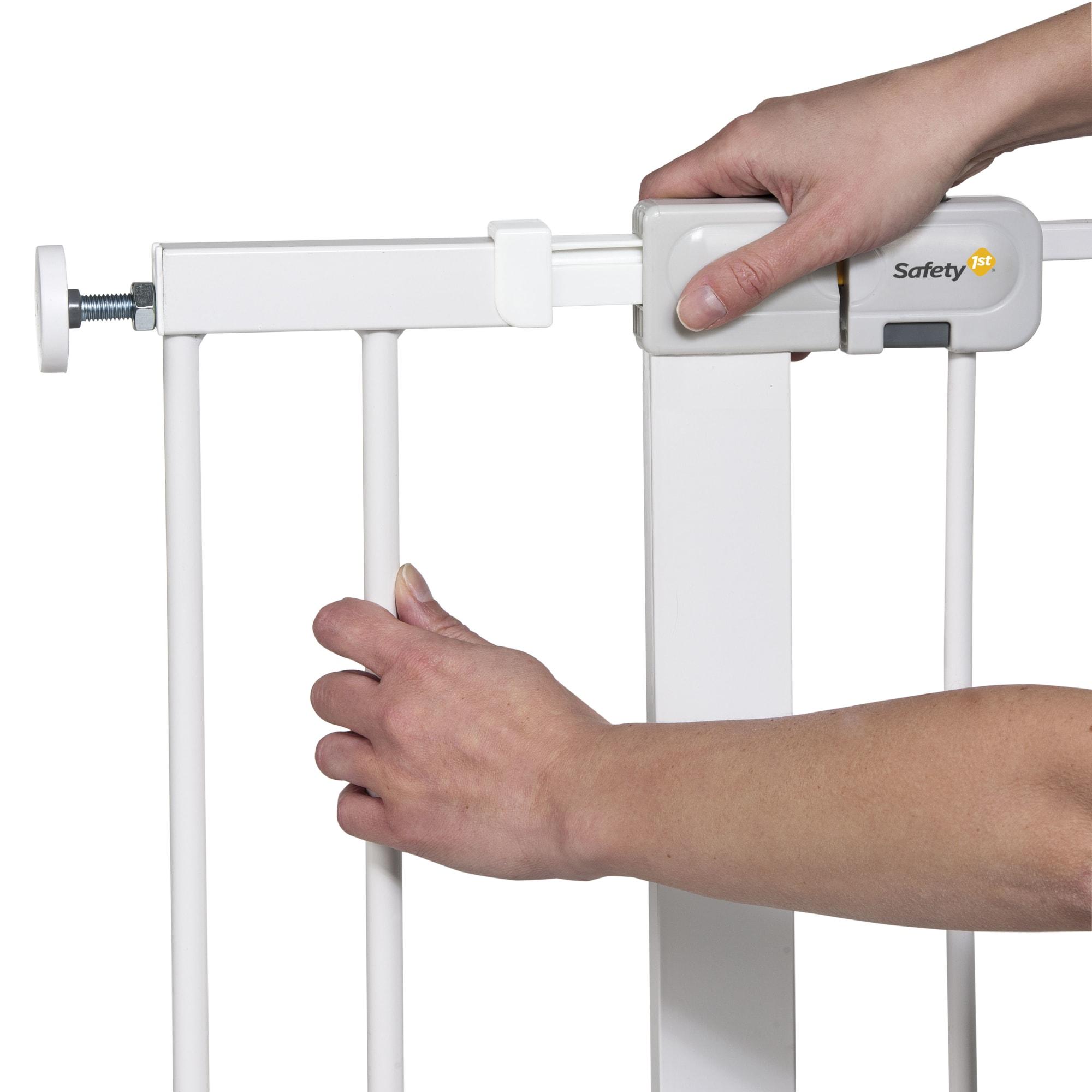 14 cm - Monteres nemt på dit Safety1st gitter