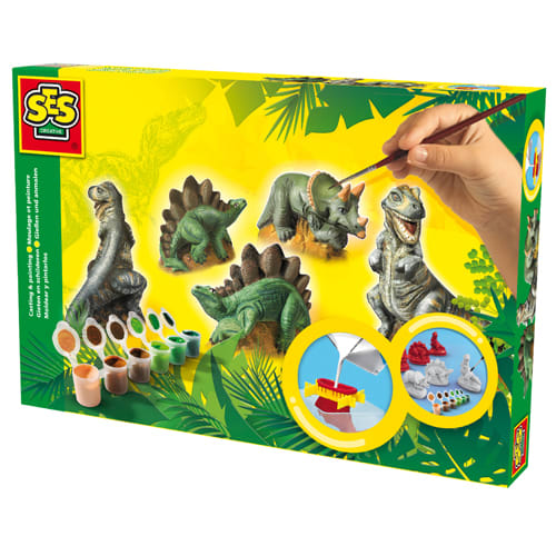 Form og mal dinosaurer