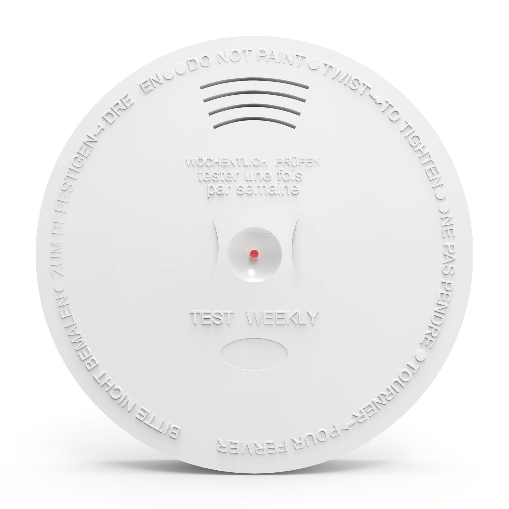 Trådløs, optisk røgalarm - Kobles til dit S6evo alarmsystem