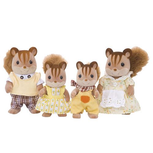 Familien med de pjuskede haler