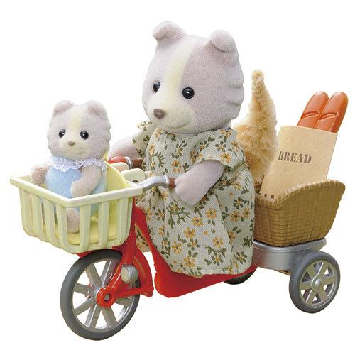 Cykeltur med mor til bageren