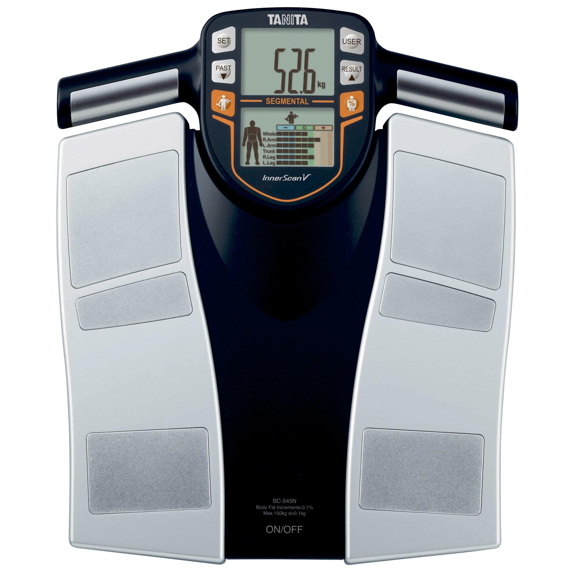 Kropsanalysevægten giver på 10 sekunder en nøjagtig måling af kroppen
