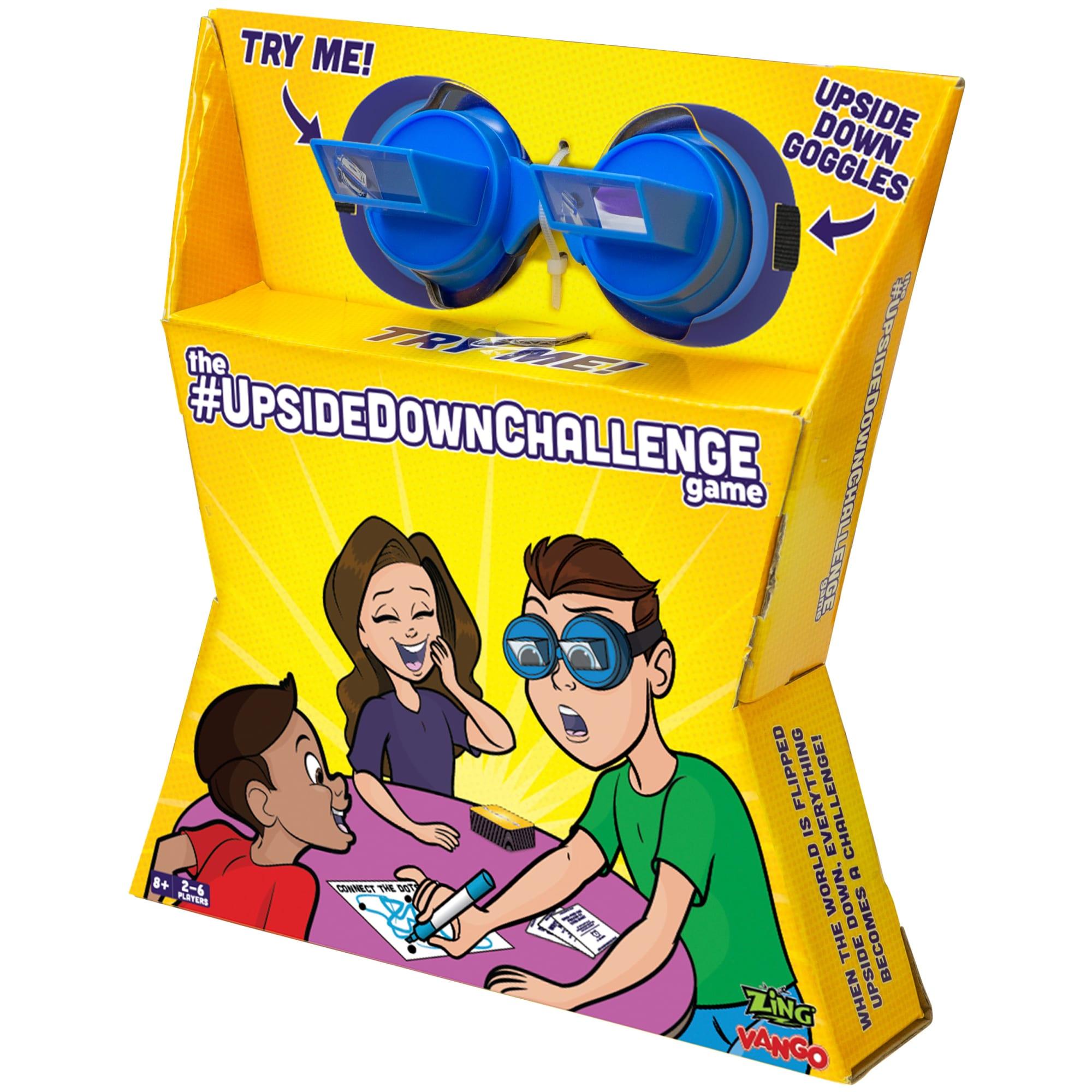 Udfør opgaver med brillerne på, som vender alting på hovedet