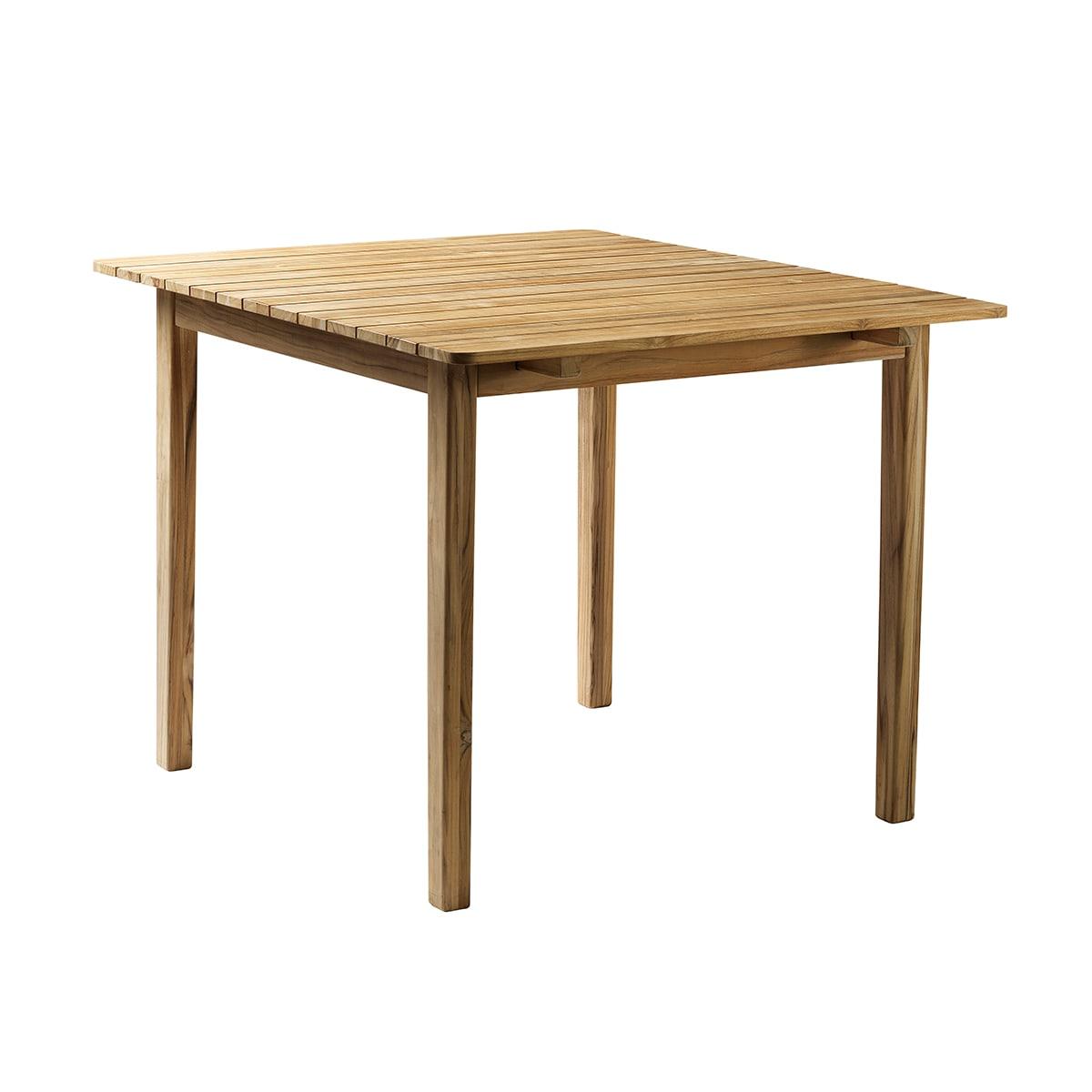 FDB Møbler - Udtræksbord i teak