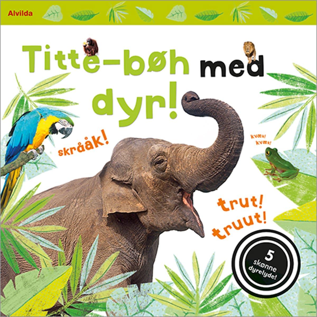 Skøn bog med 5 dejlige dyrelyde