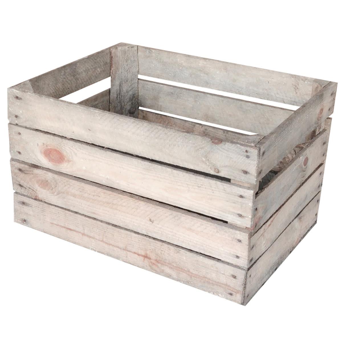 Opbevaringskasse med naturlig patina