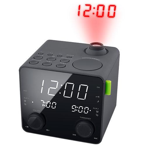 Clockradio med projektion