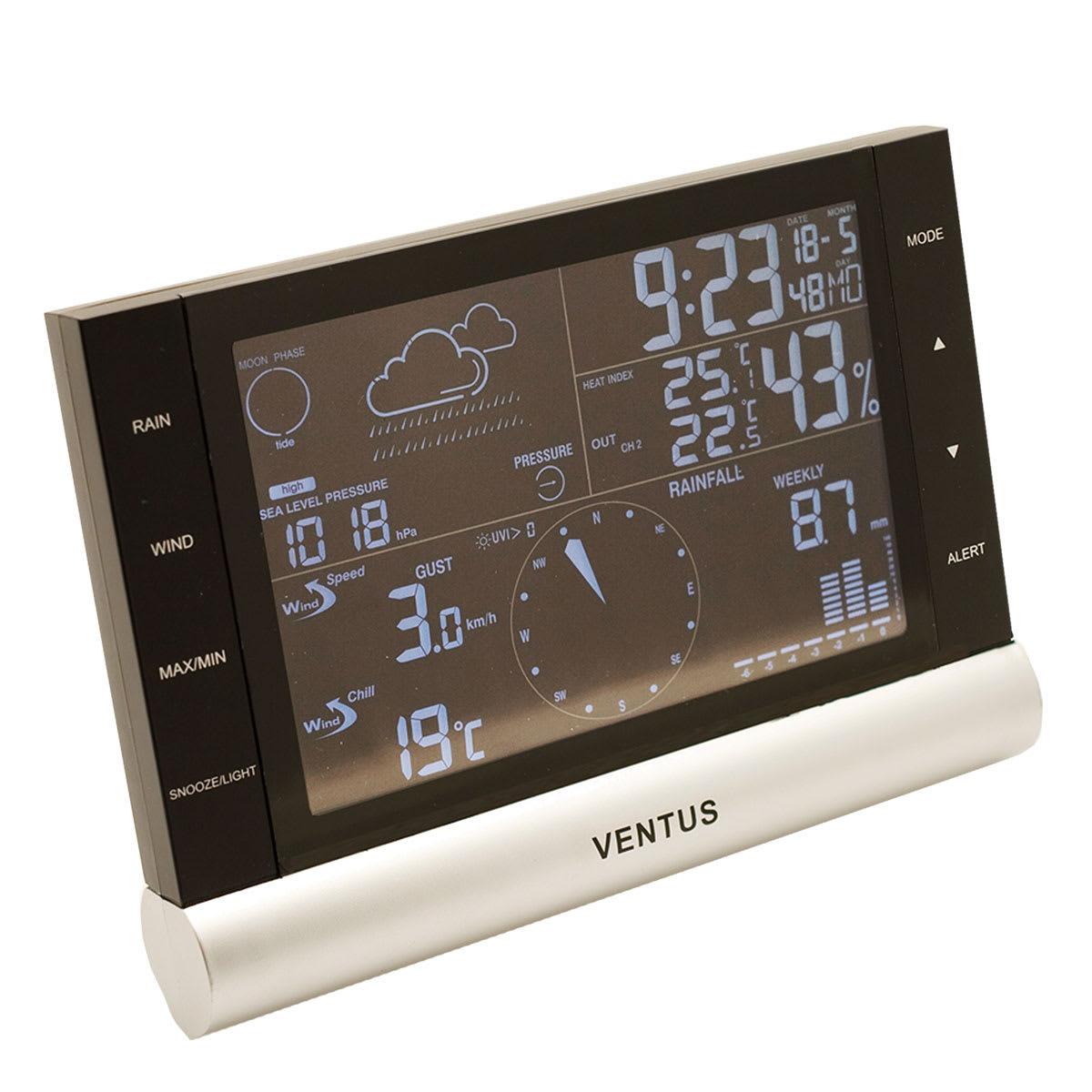 Se dine vejrmålinger på vejrstationen eller din smartphone