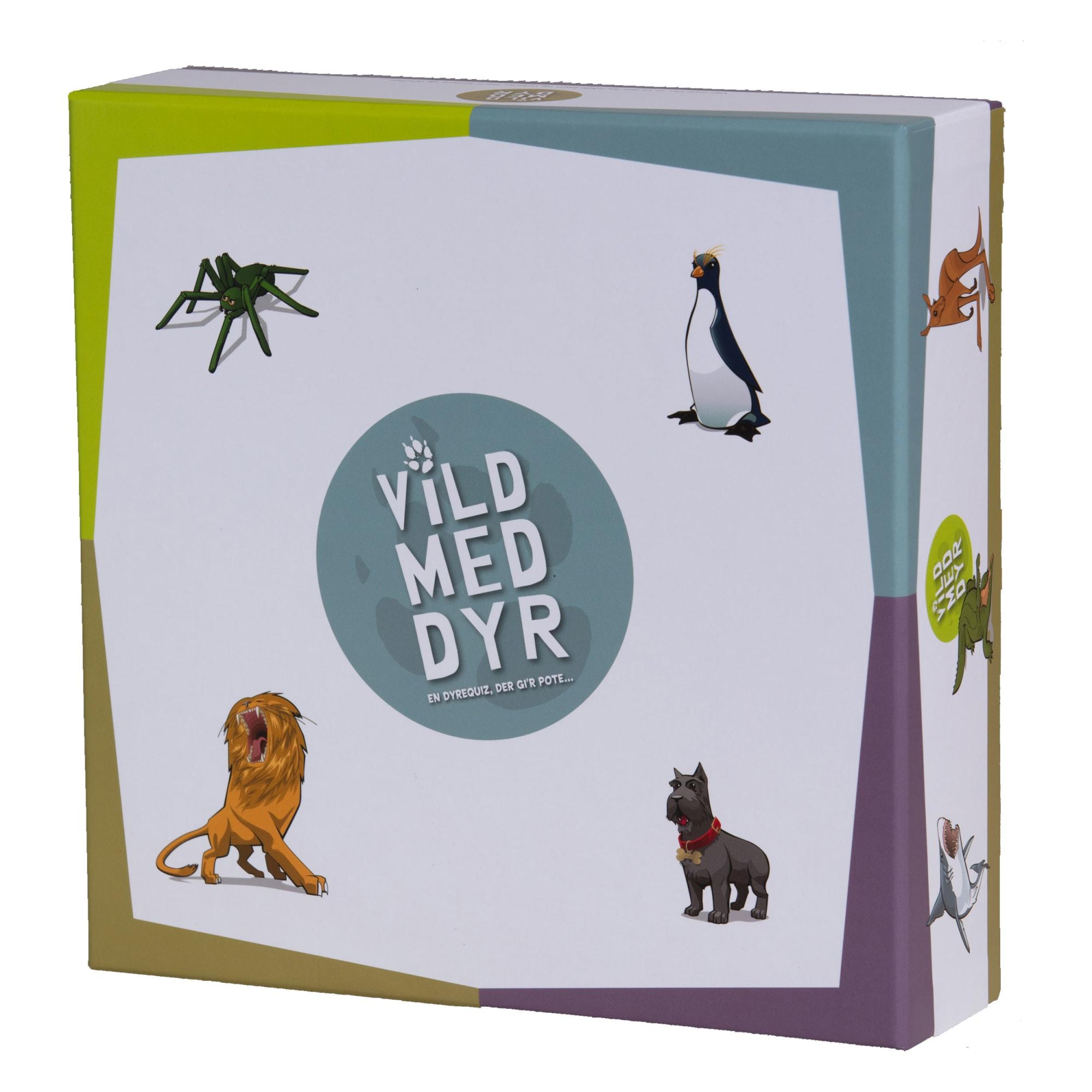 Kreativt familiespil, hvor du fx skal mime en myresluger