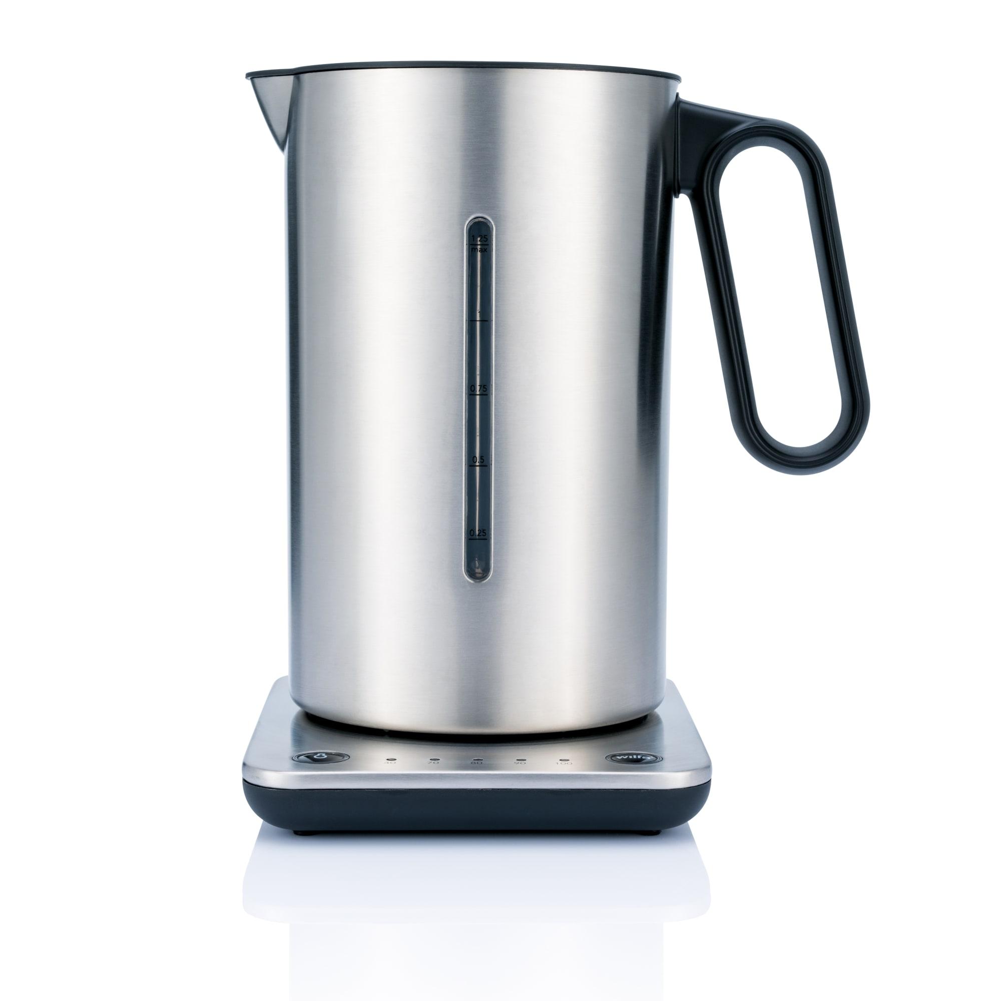 1,25 liter - Med temperaturvælger ned til 40°C