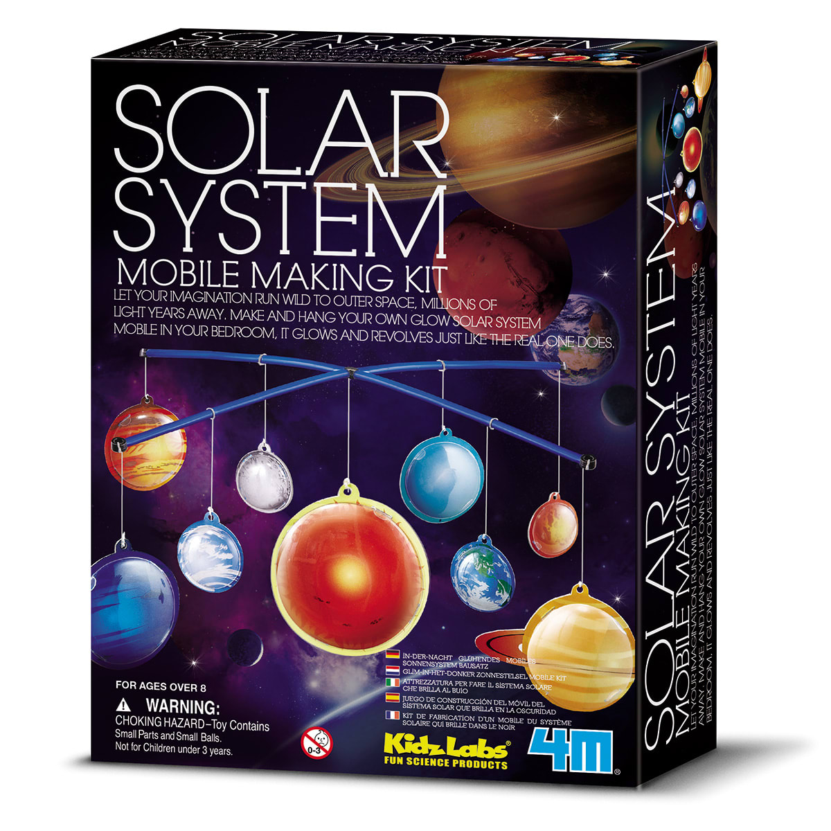 Saml din egen uro med solsystemet