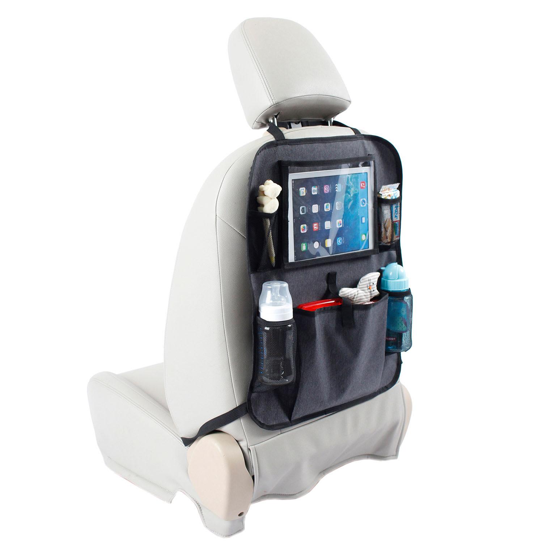 Hold styr på tablet, vandflasker, legetøj, bøger, m.m. på køreturen