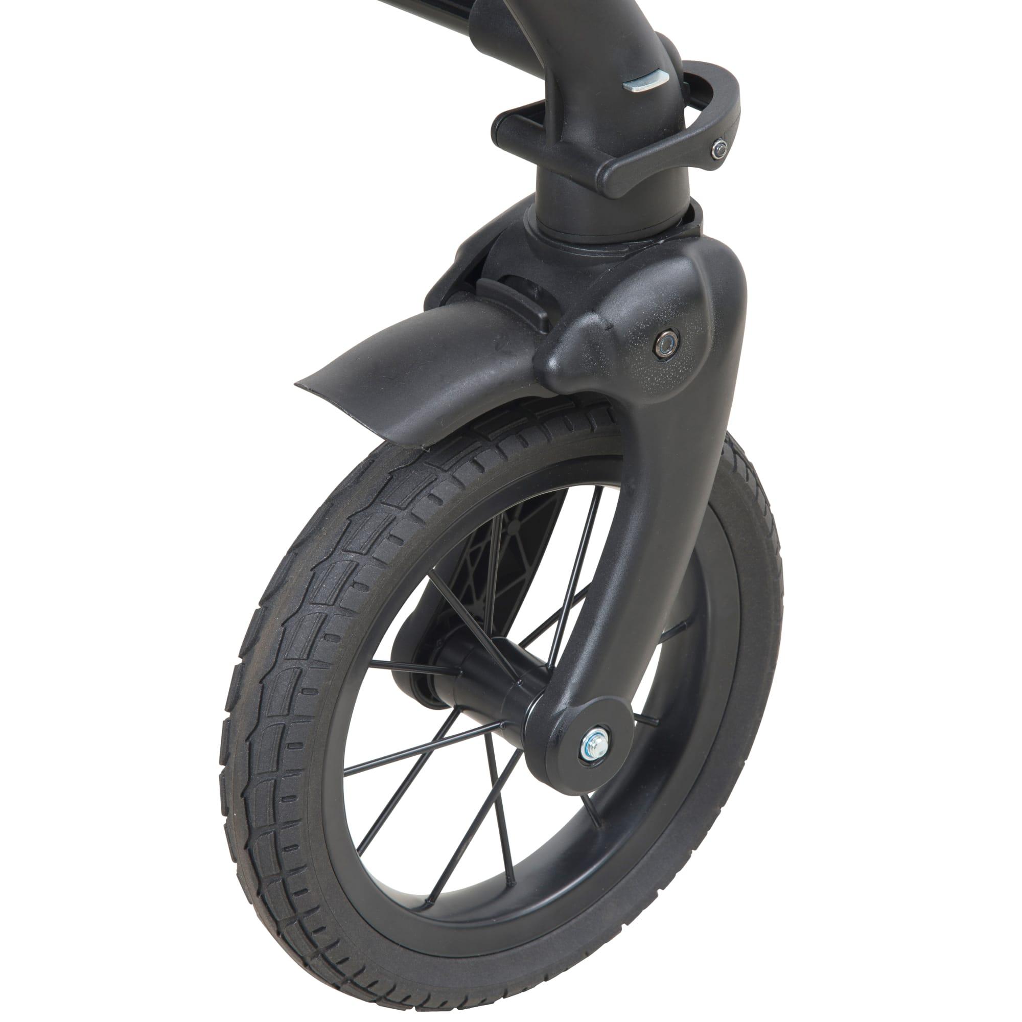 1 stk. punkterfrit, massivt hjul til BabyTrold vogne og Babynor Ydun