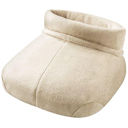 Blødt teddy-fleece - Med schiatsu-massage og én temperaturindstilling
