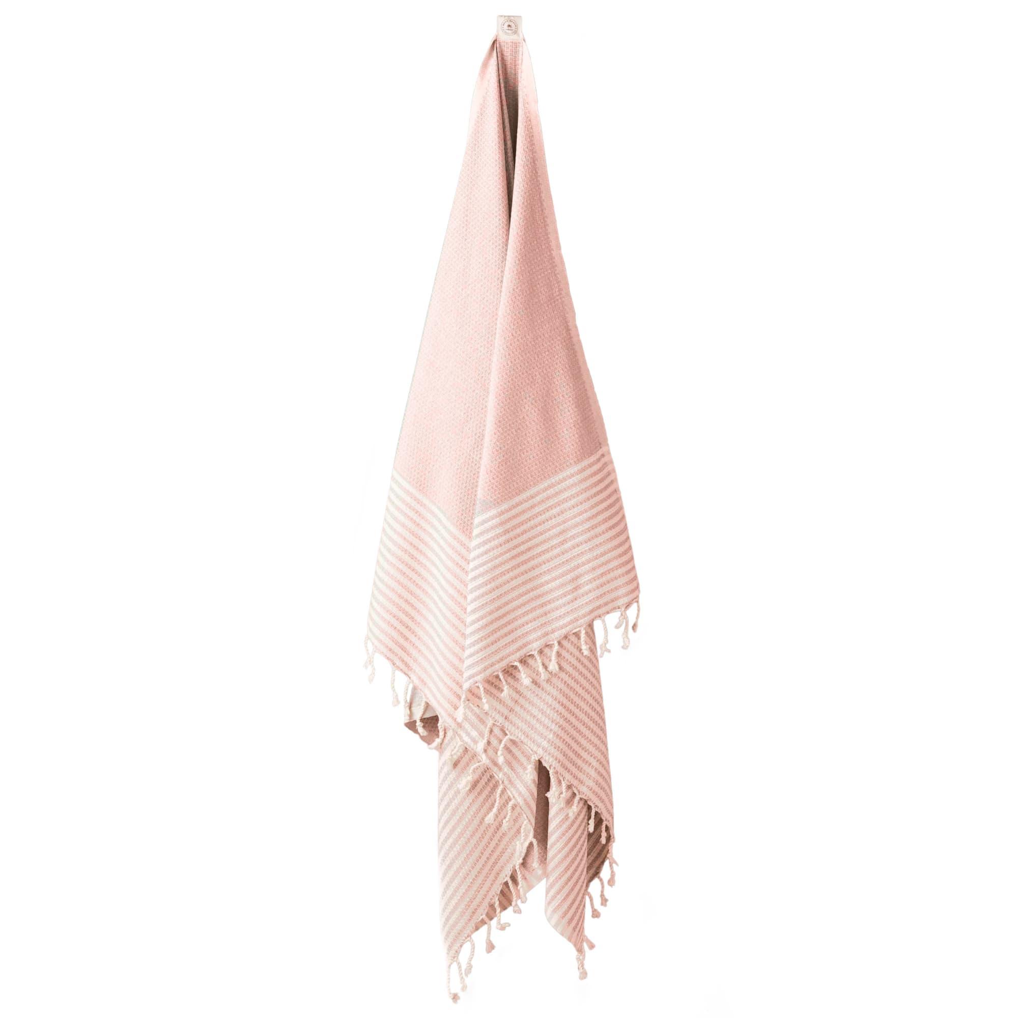 Hammamhåndklæde i 100% bomuld - 100 x 180 cm