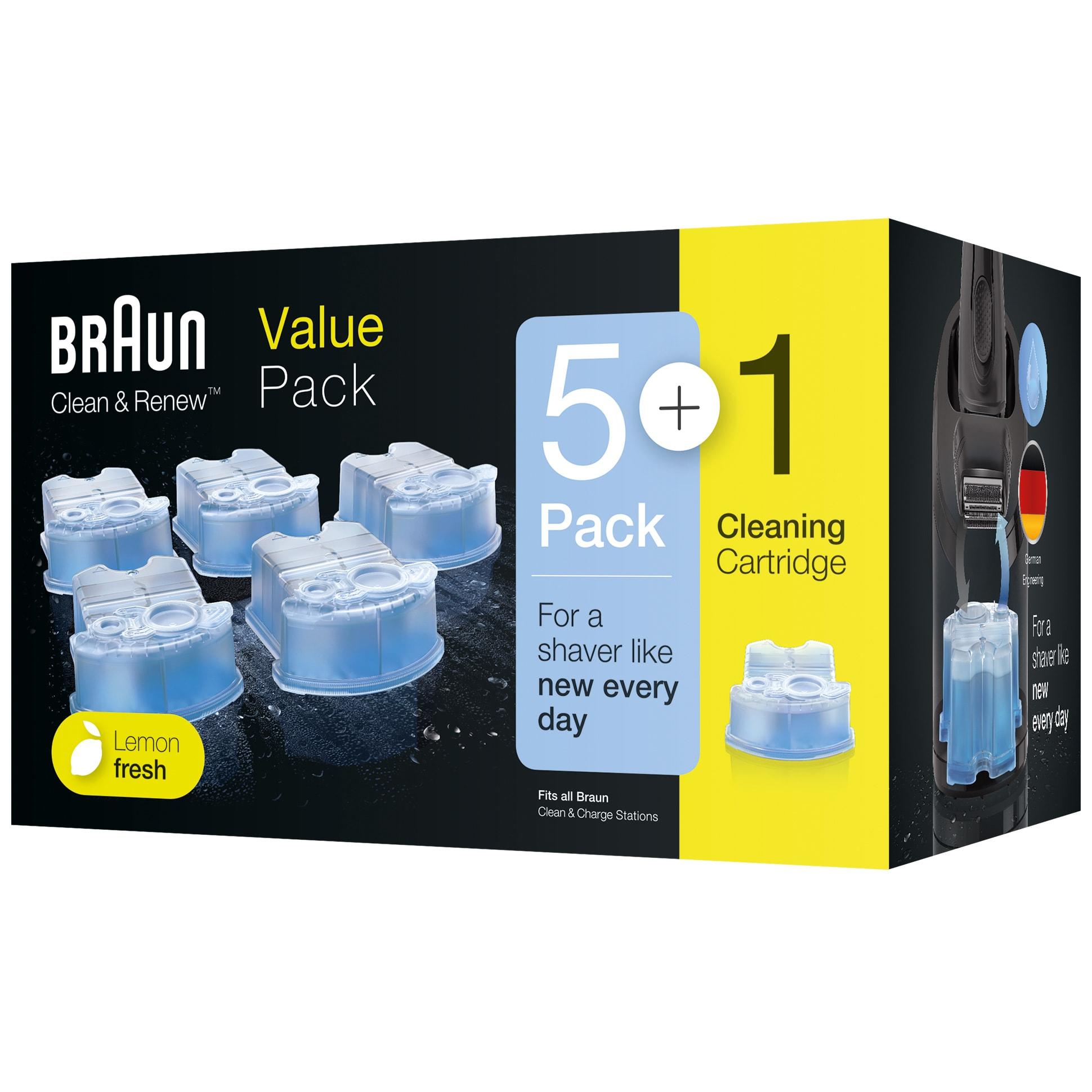 Passer til alle Braun rensestationer