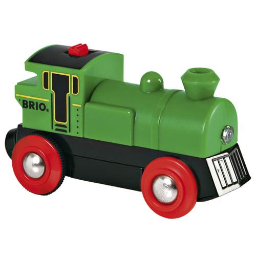 Kør afsted med det grønne lokomotiv