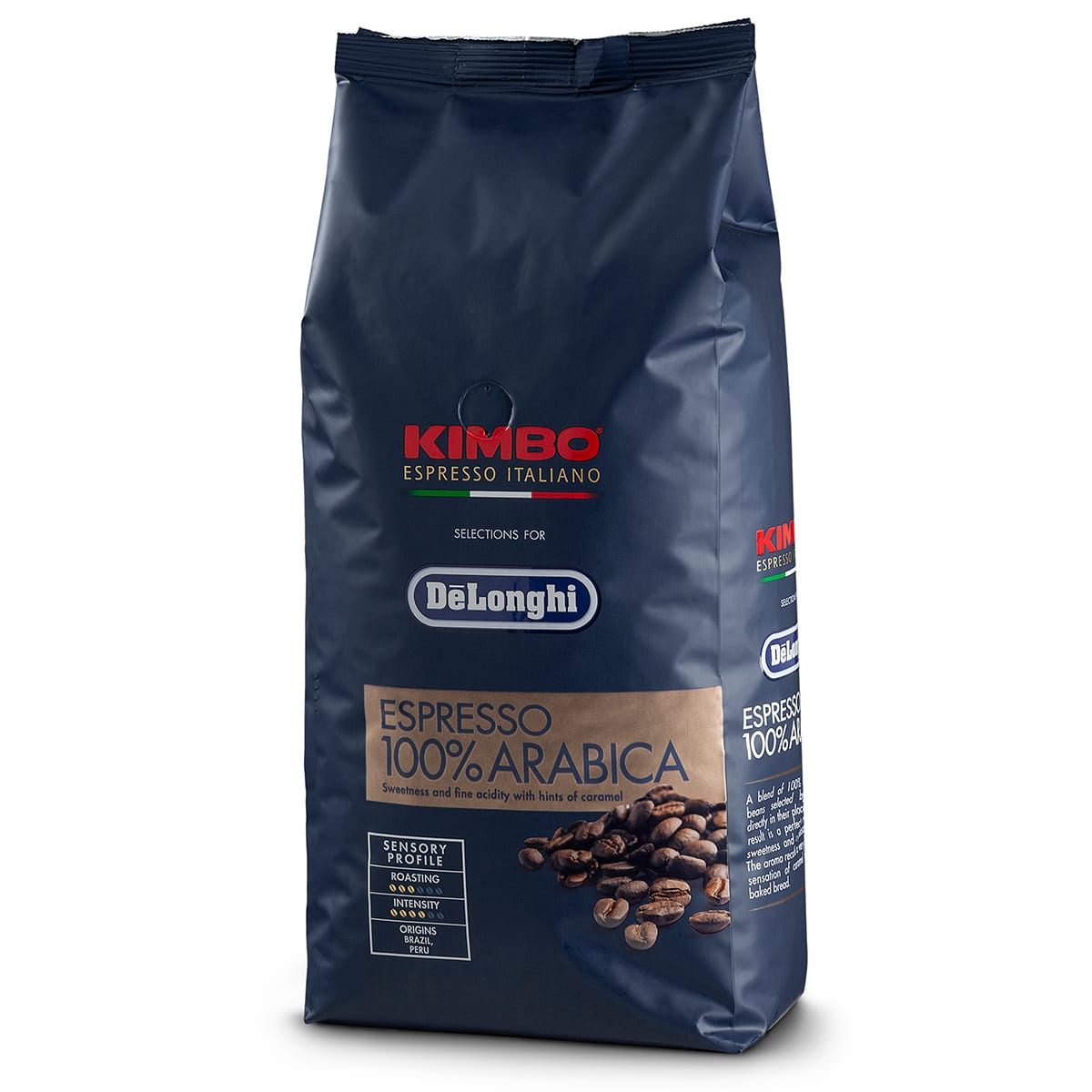 100% Arabica kaffe med en sød smag