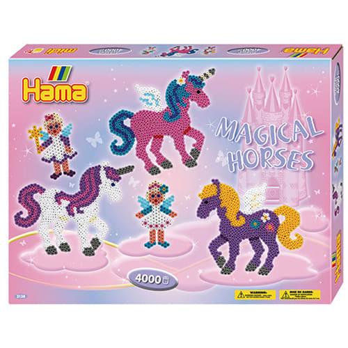 Inklusiv 2 stiftplader: Fe og hest