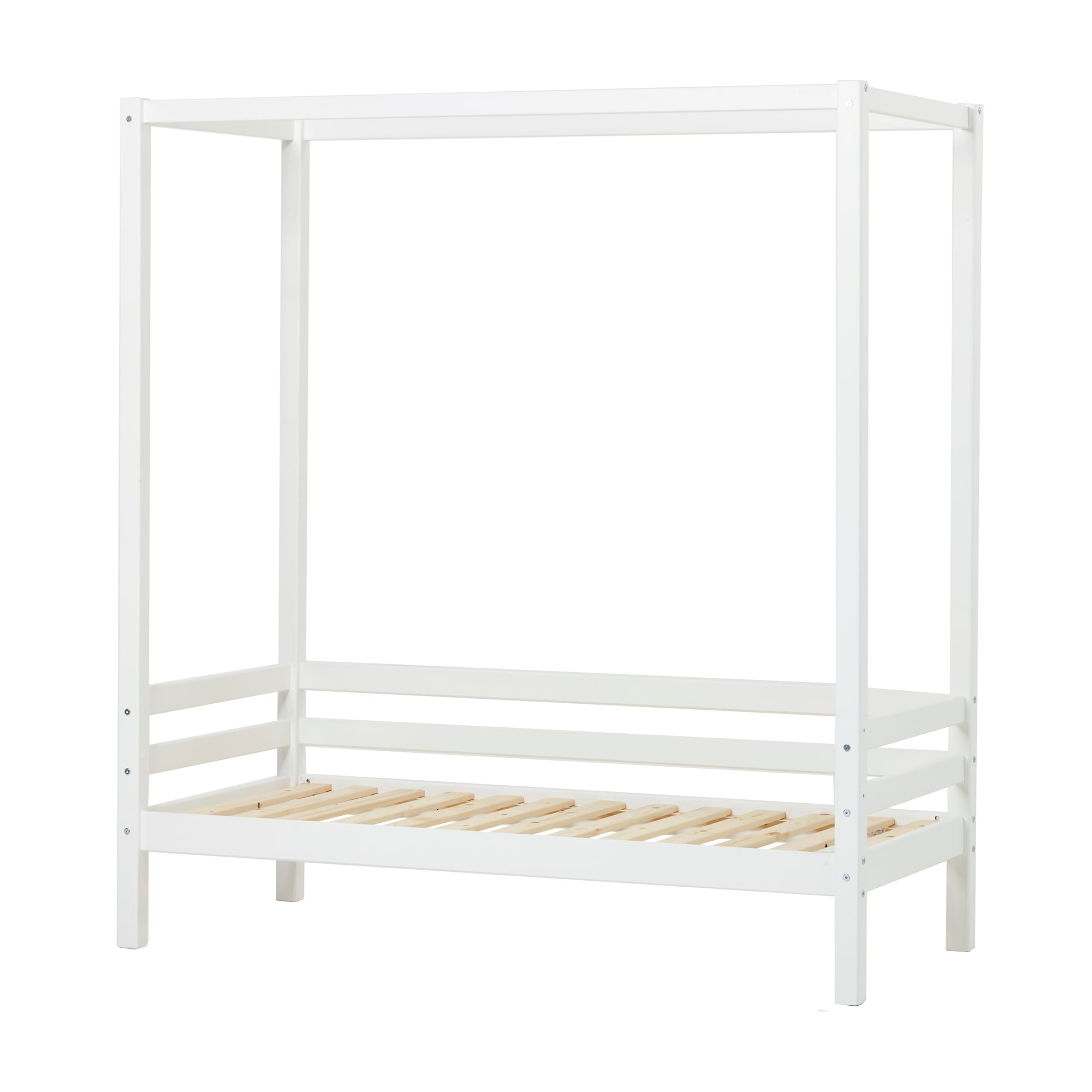 90 x 200 cm - Svanemærket børneseng - Skab den hyggeligste soveplads