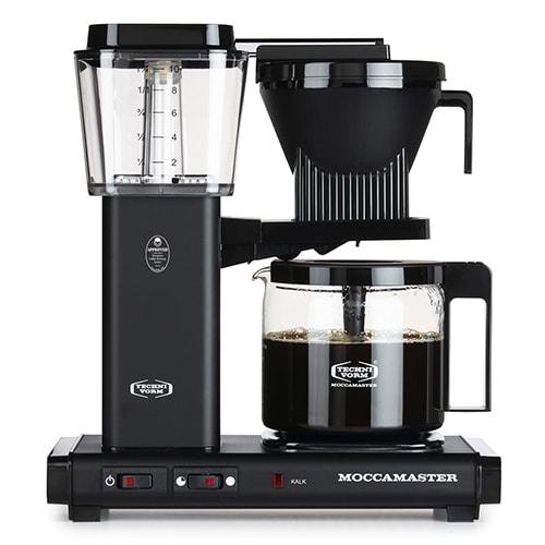 Brygger 10 kopper kaffe på ca. 6 minutter