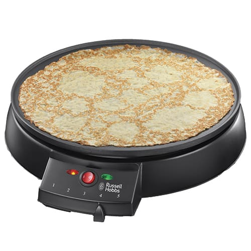 Hjemmelavede pandekager direkte ved spisebordet til når du har gæster