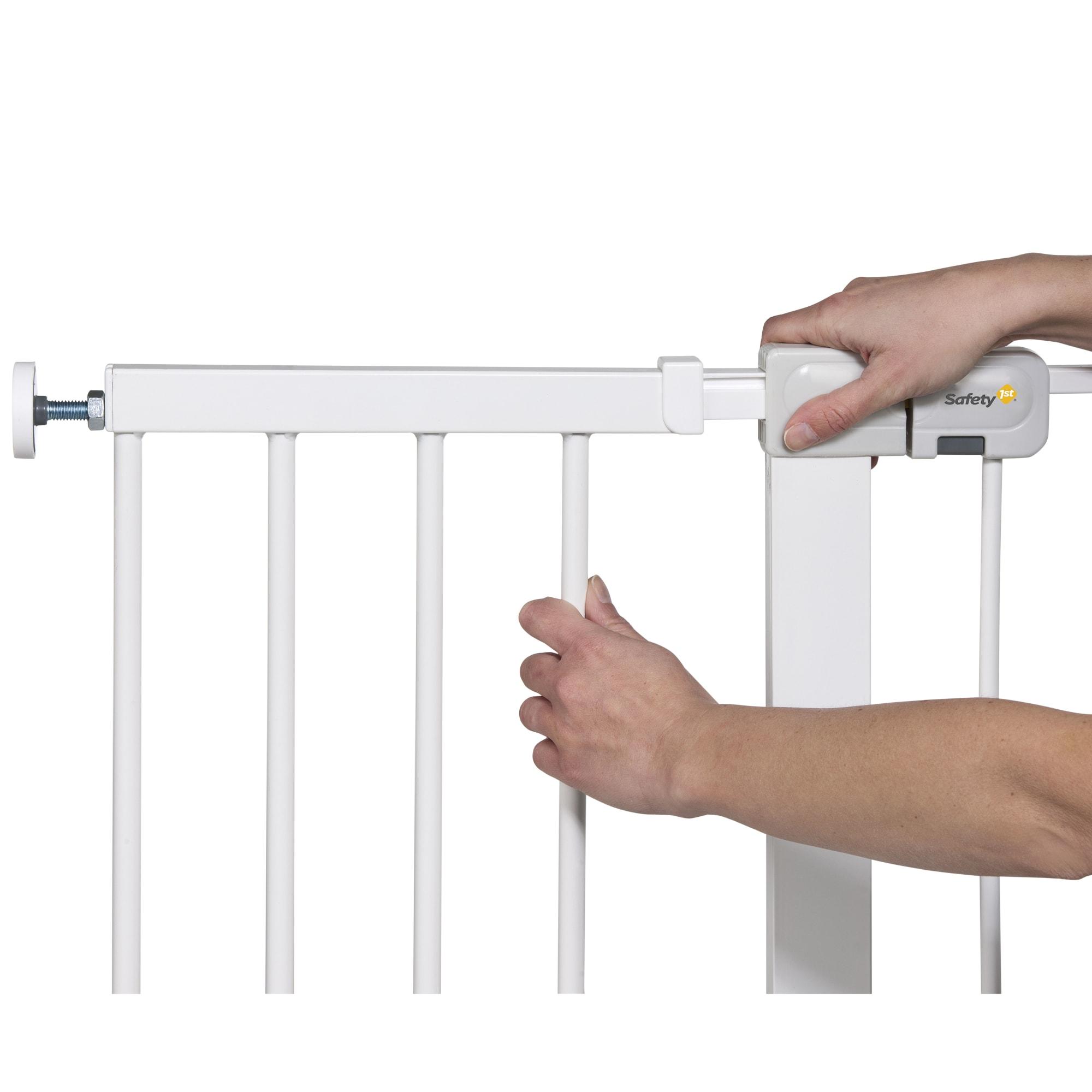 28 cm - Monteres nemt på dit Safety1st gitter