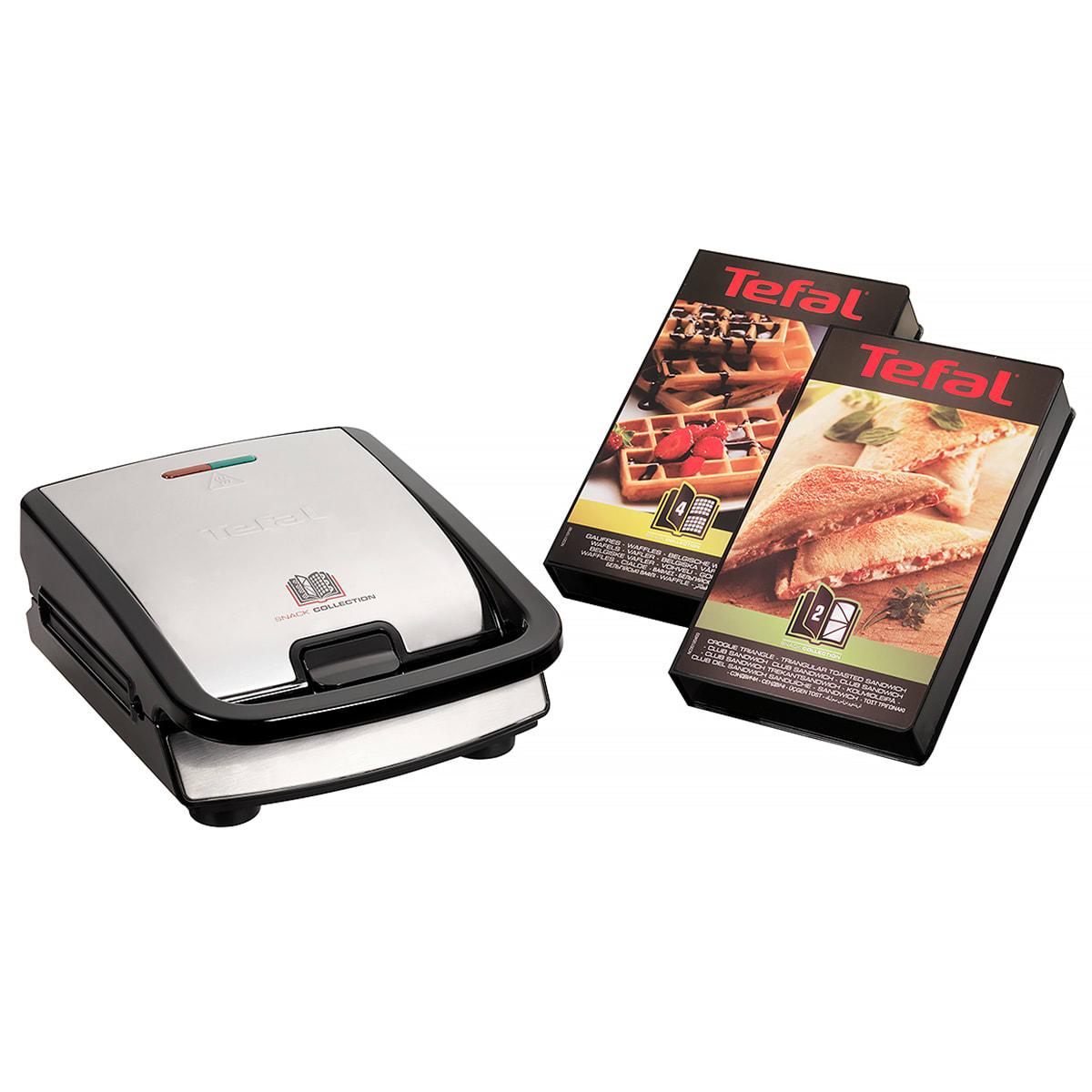2-i-1 toaster og vaffeljern