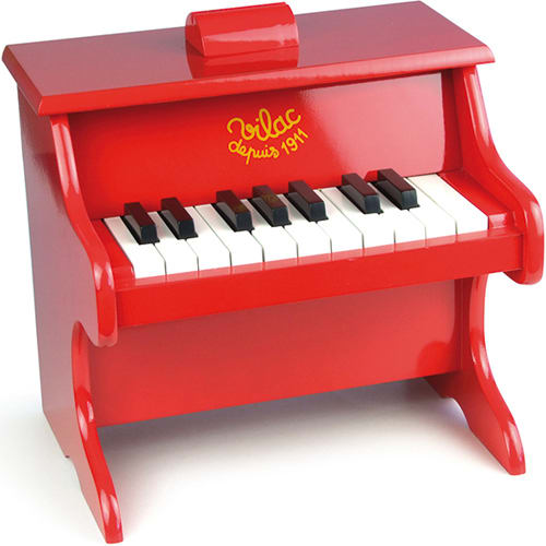 Robust og lakeret træklaver til musikglade børn